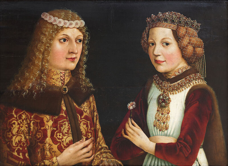 Portrait of Ladislaus the Posthumous and Magdalena of Valois