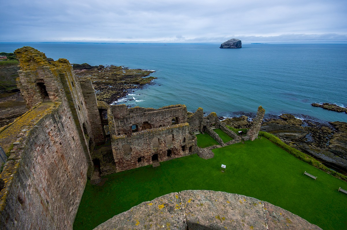 Tantallon Castle, additional view