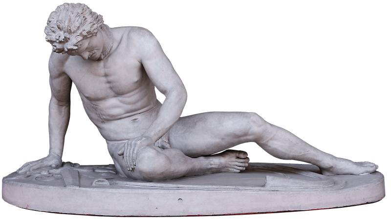Dying Gaul, 250 BCE, Ancient Rome