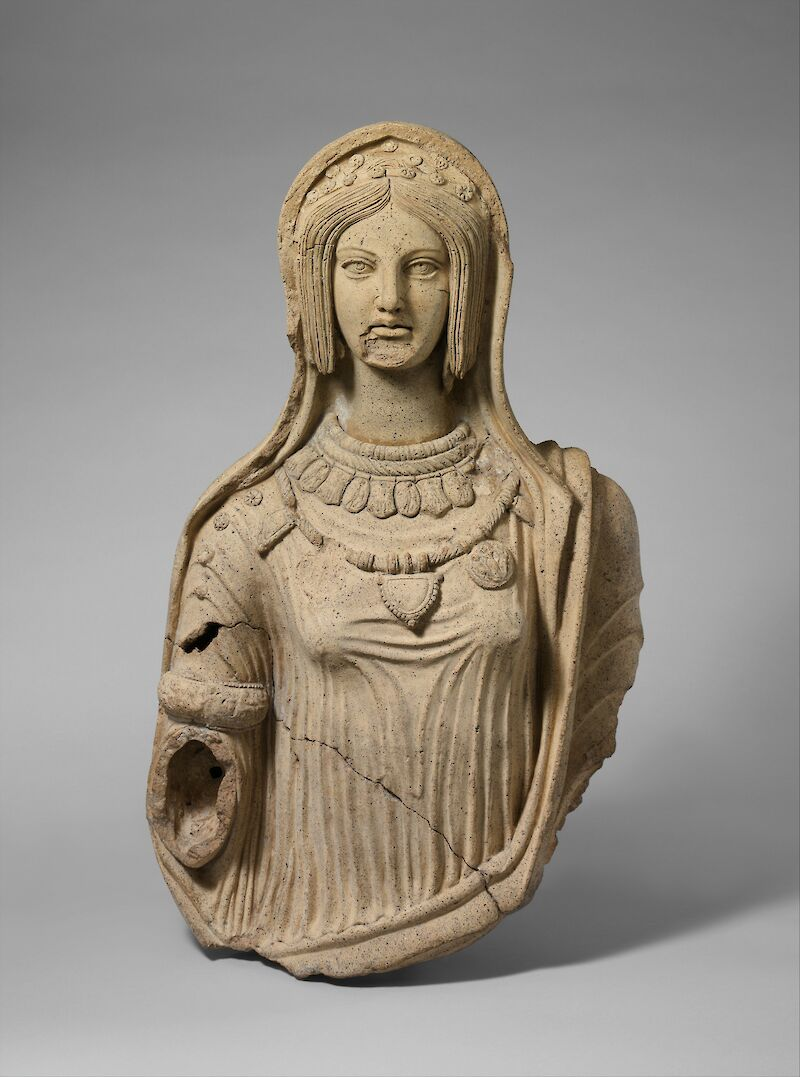 Etruscan Woman, 300 BCE, The Etruscans