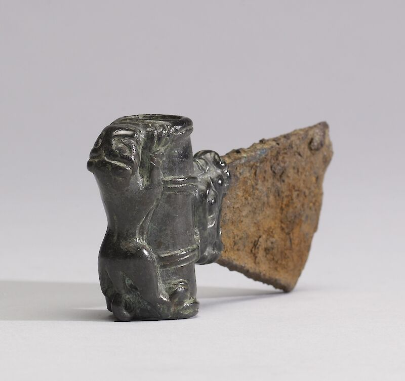 Iron Axe Head, additional view