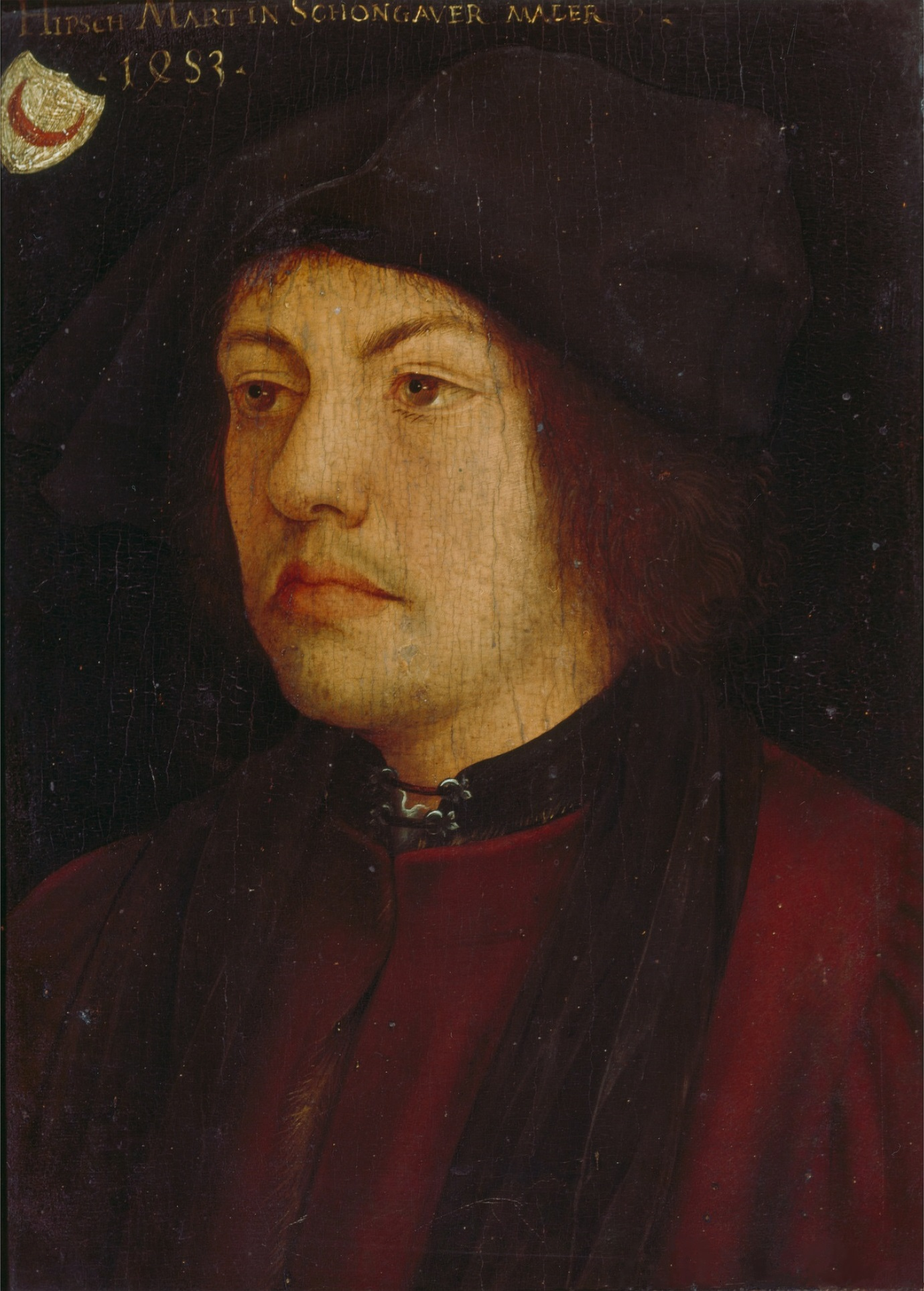 Portrait of Martin Schongauer