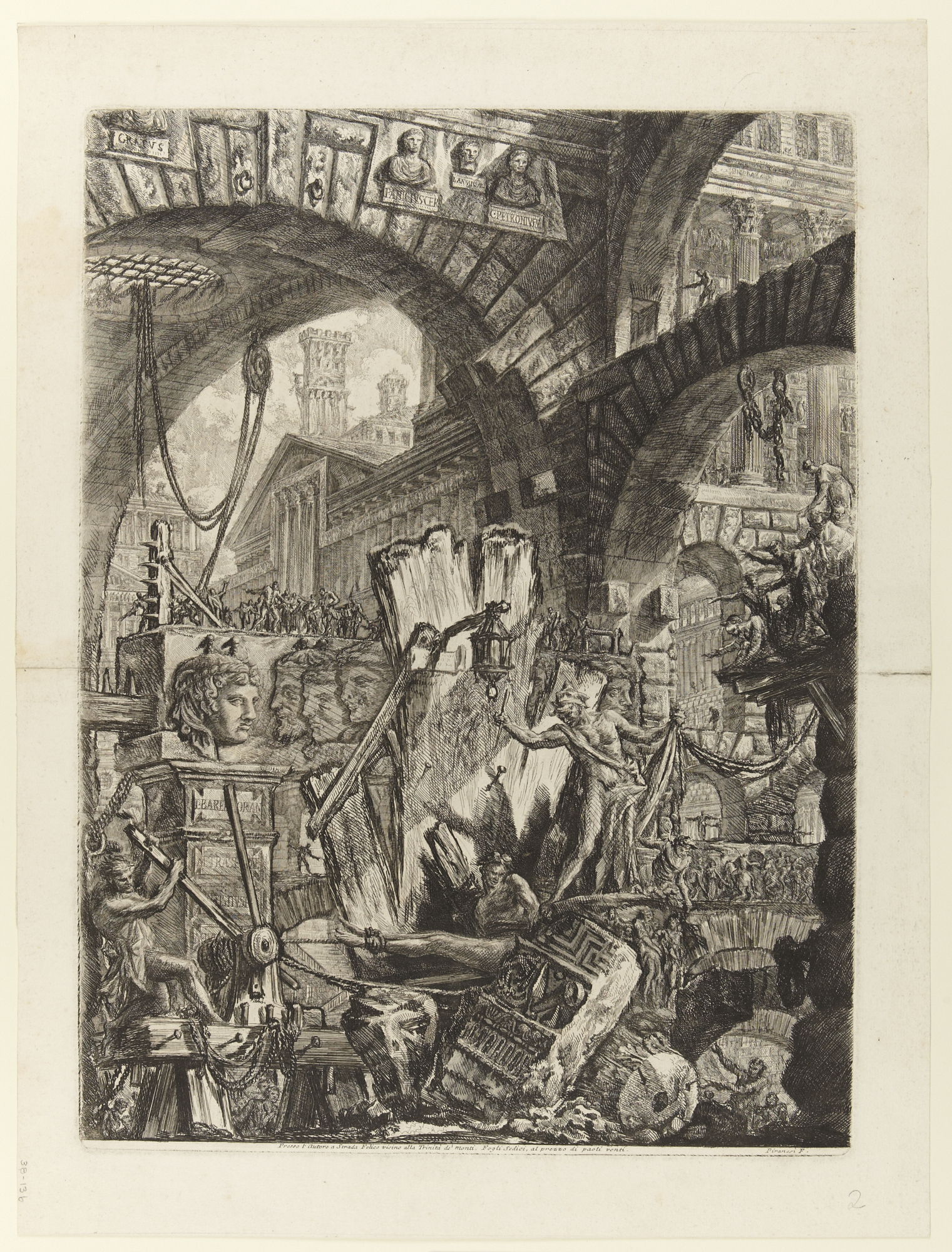 The Man on the Rack, 1761 — Giovanni Battista Piranesi