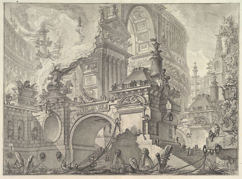Architecture, Perspectives, Grotesques, Antiquities, 1749, Giovanni Battista Piranesi