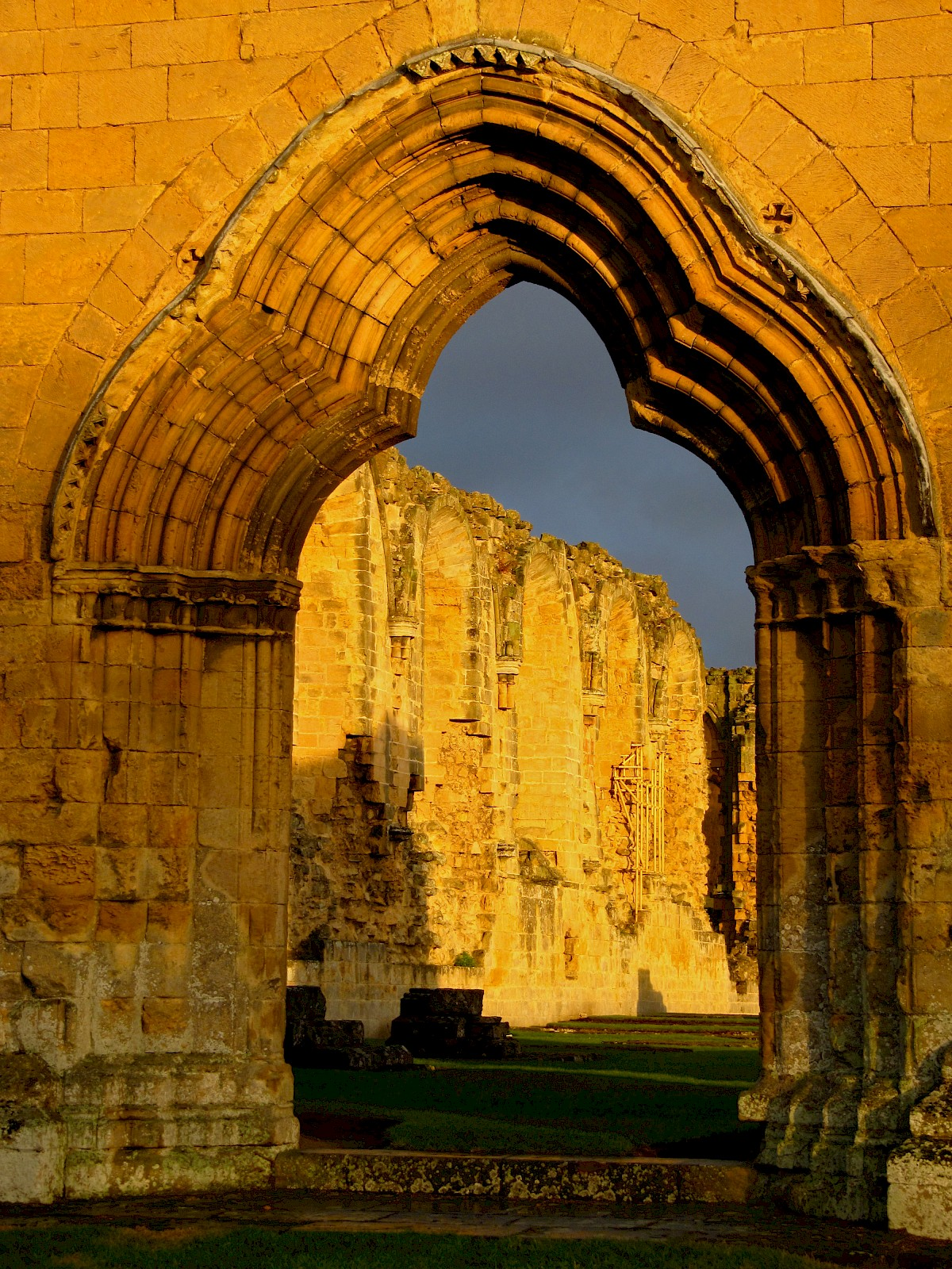 Byland Abbey, additional view