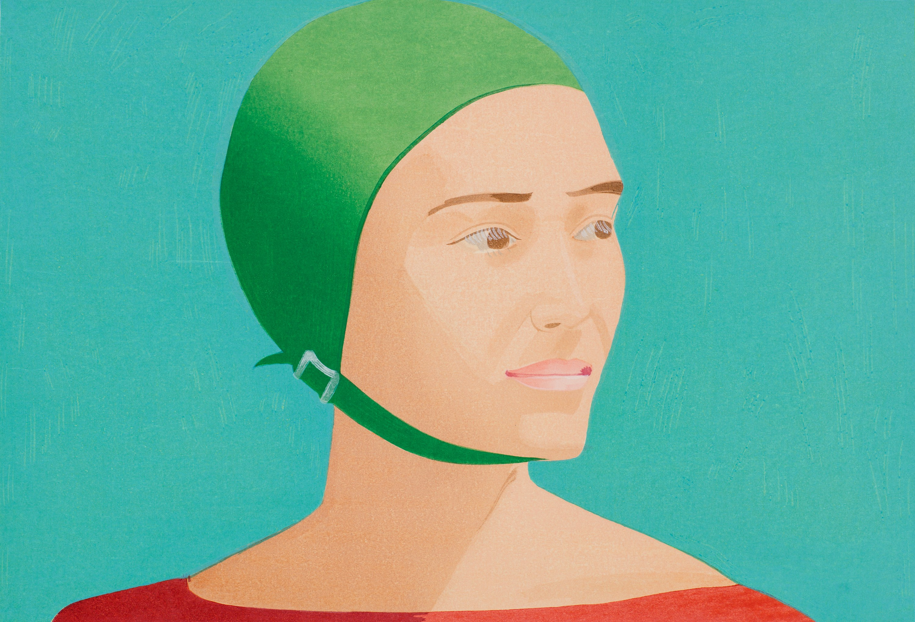 The Green Cap, 1985 — Alex Katz