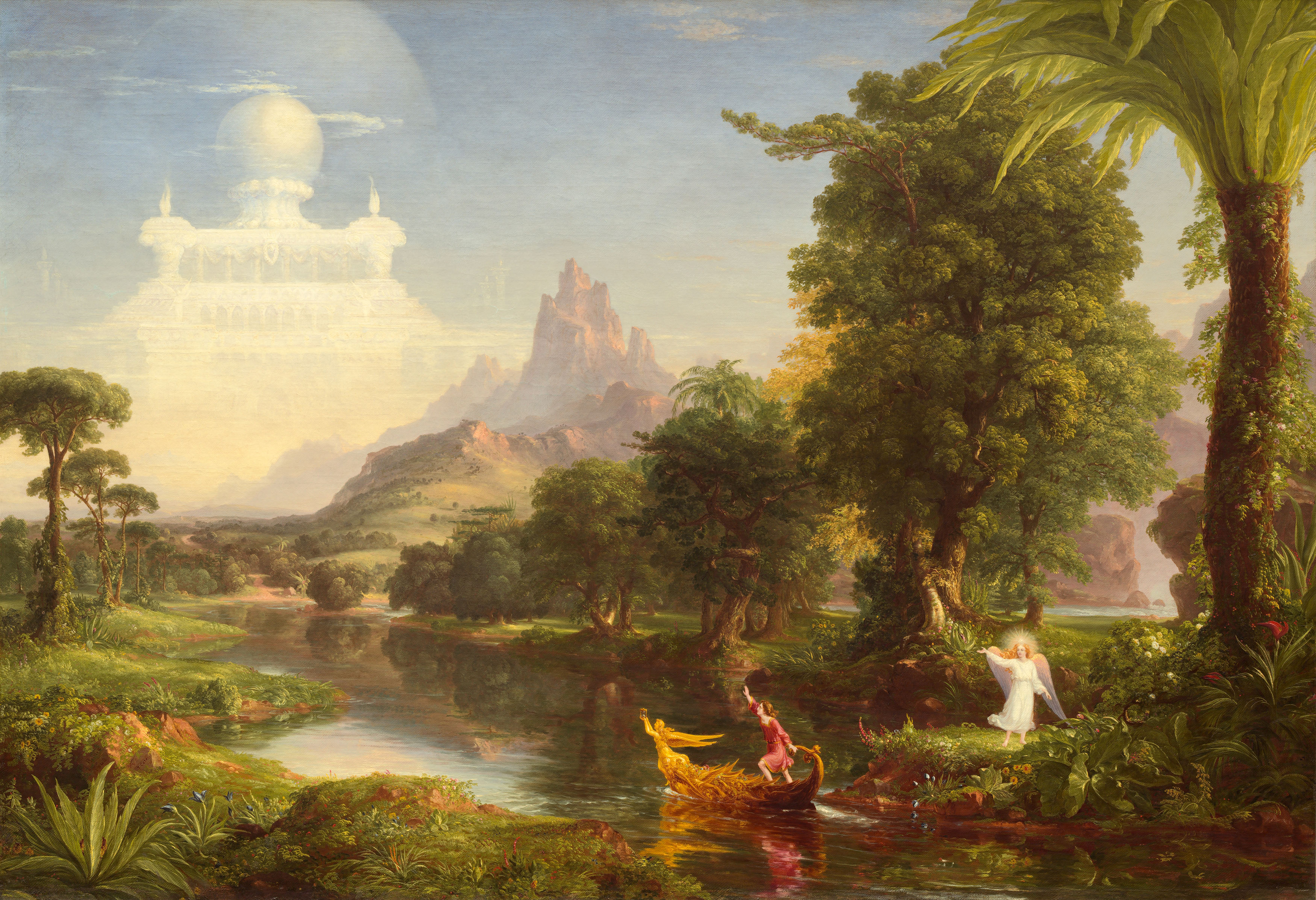 The Voyage of Life: Youth, 1842 — Romanticism
