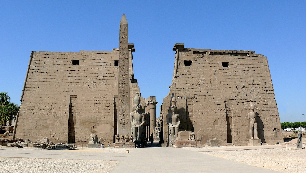 Luxor Temple, additional view