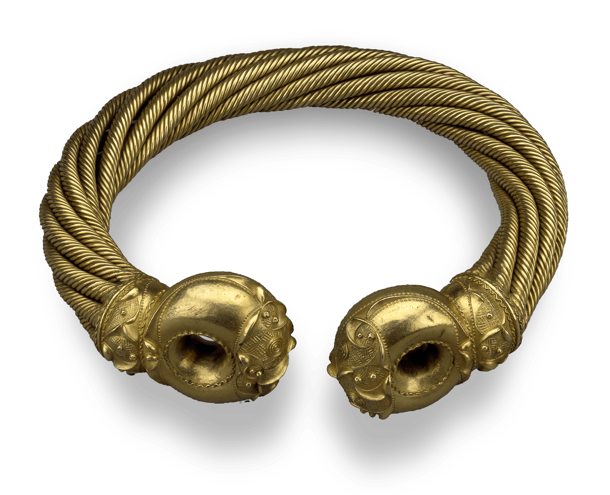 The Snettisham Great Torc, 50 BCE — The Celts