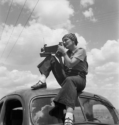 Portrait of Dorothea Lange