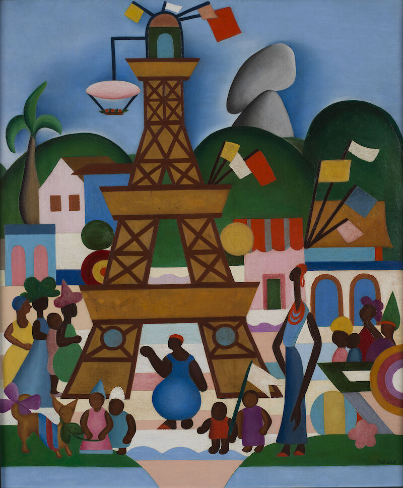 Carnival in Madureira, 1924, Tarsila do Amaral