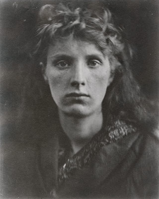 Portrait of Julia Margaret Cameron