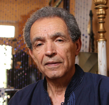 Portrait of Ahmed Yacoubi