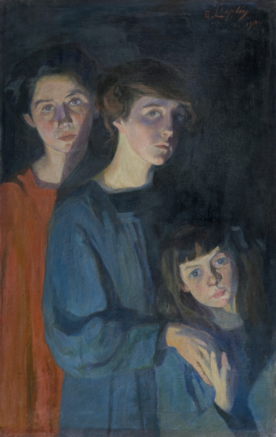The Three Sisters, 1912 — Élisabeth Chaplin,