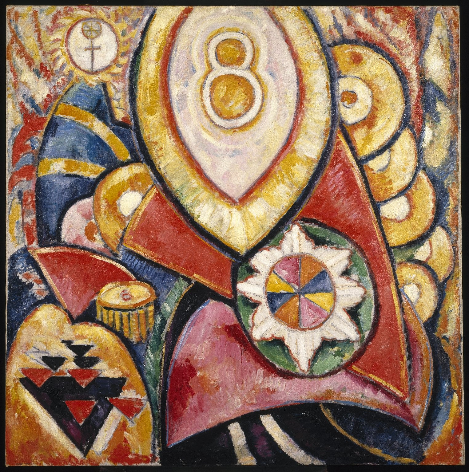 Berlin Series No. 48, 1913 — Marsden Hartley