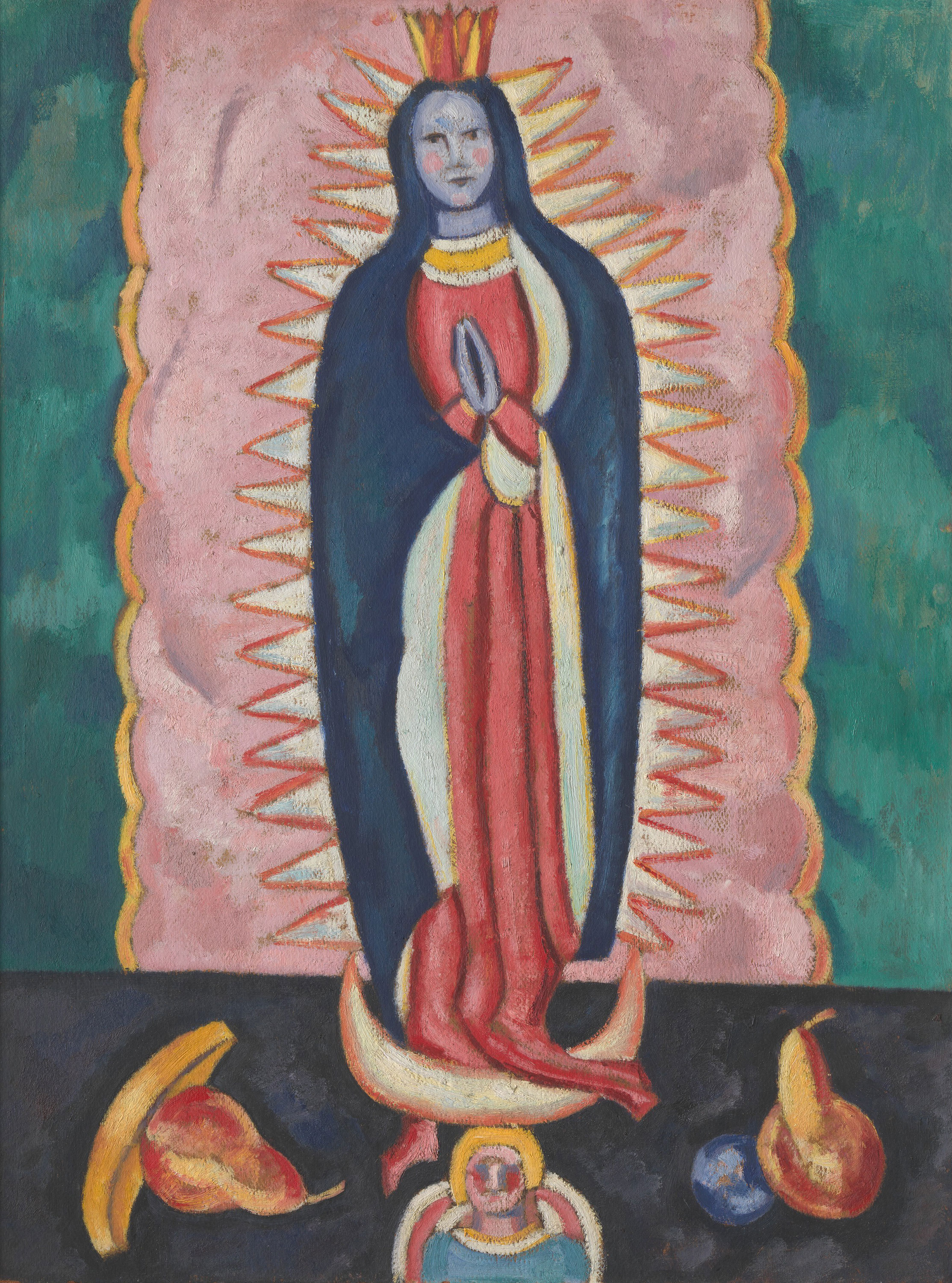 The Virgin of Guadalupe, 1919 — Marsden Hartley