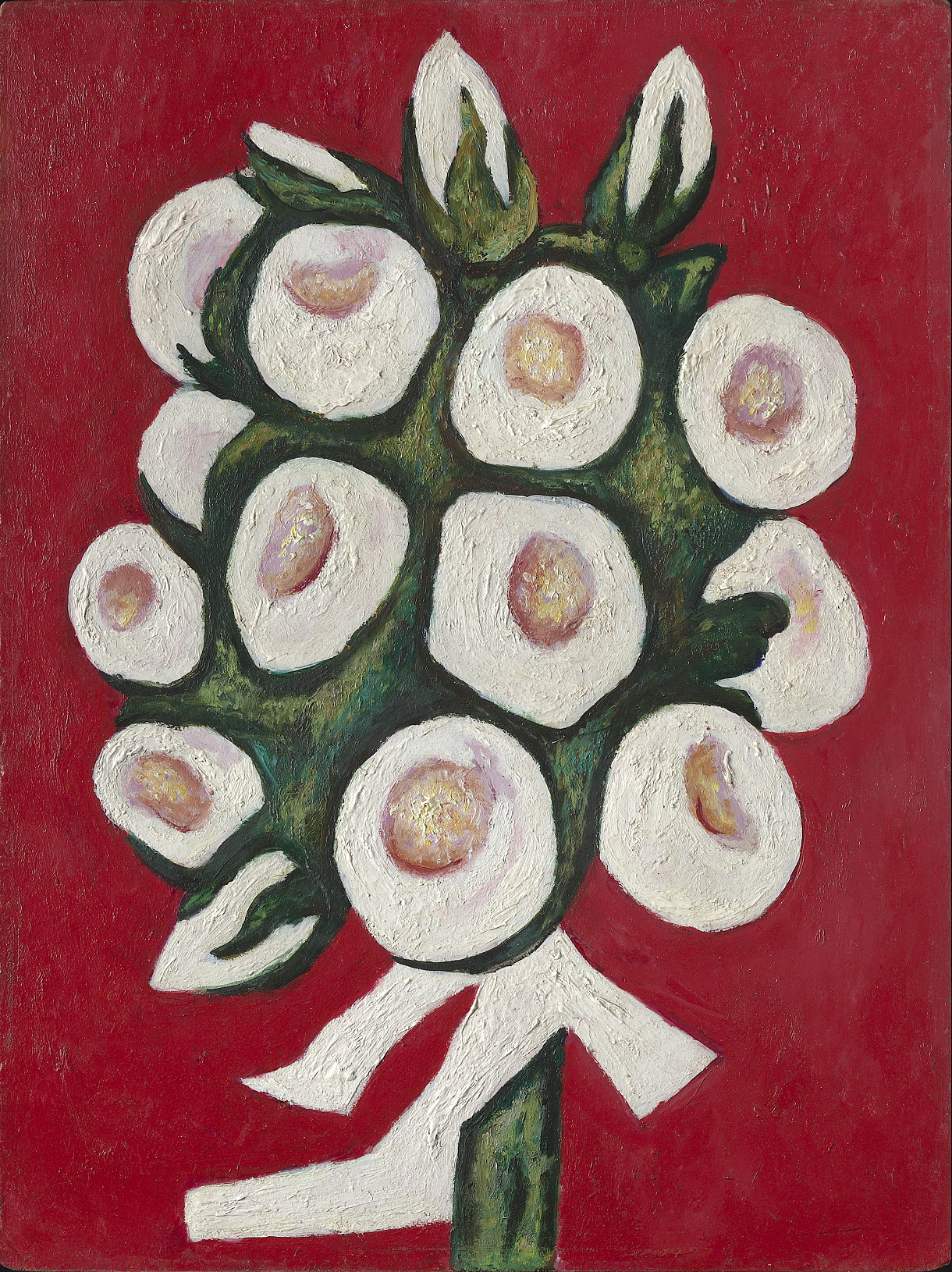 Roses for Seagulls that Lost Their Way, 1936 — Marsden Hartley