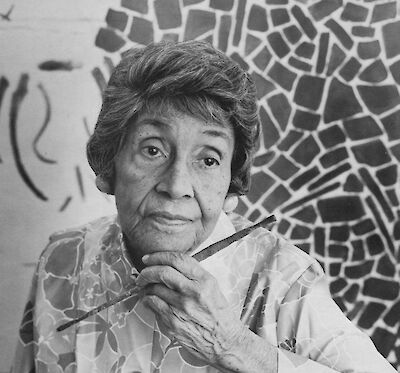 Portrait of Alma Thomas