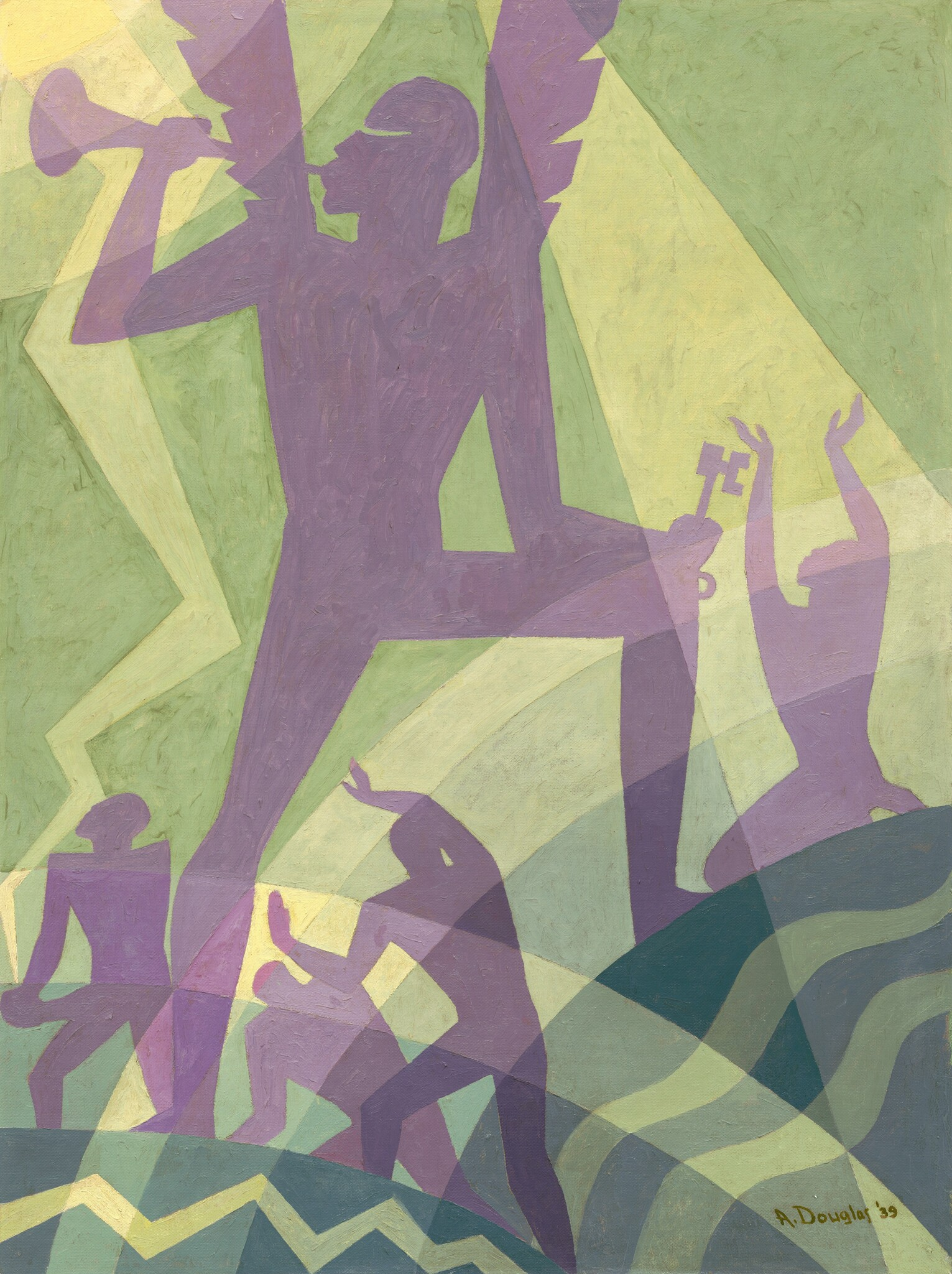 The Judgment Day, 1939 — Aaron Douglas
