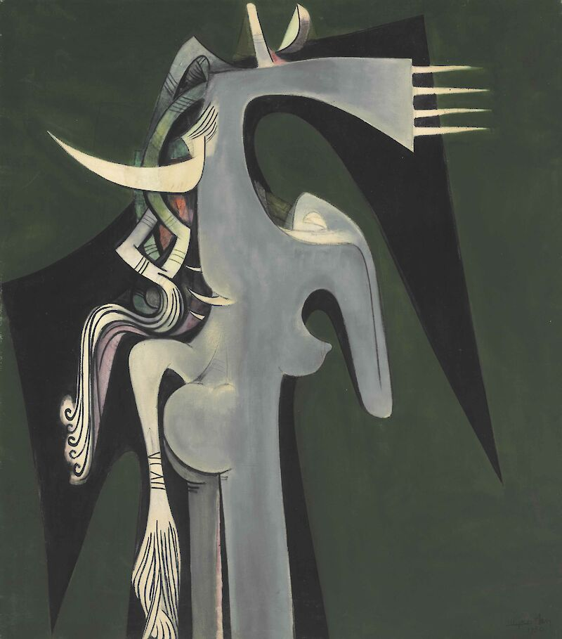 Portrait of Wifredo Lam