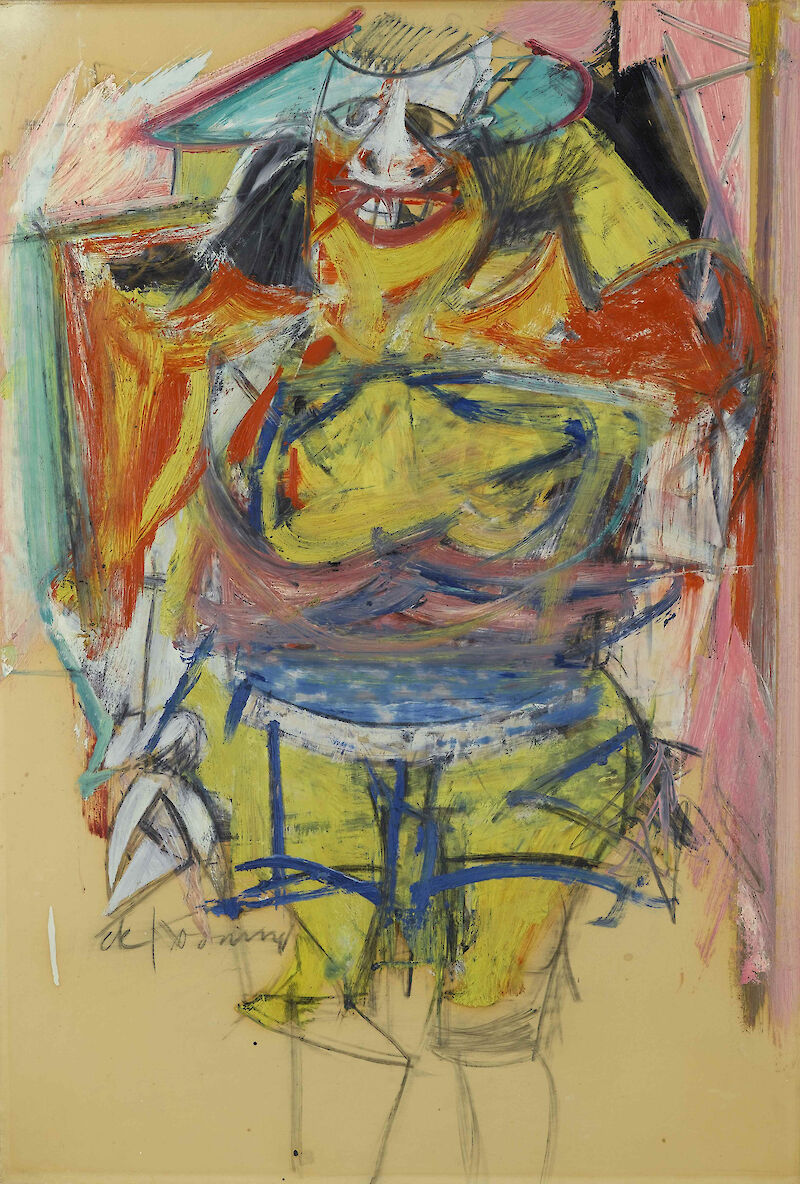 Woman, 1954, Willem de Kooning
