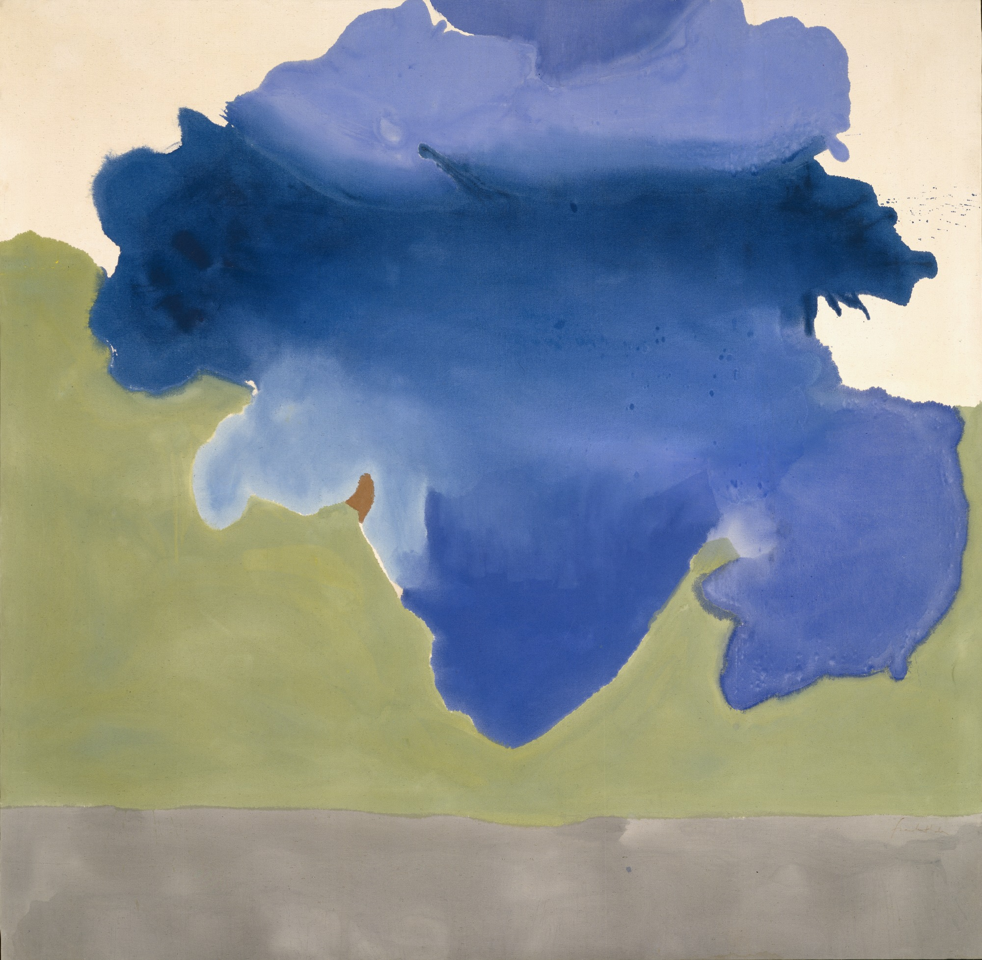 The Bay, 1963 — Helen Frankenthaler,