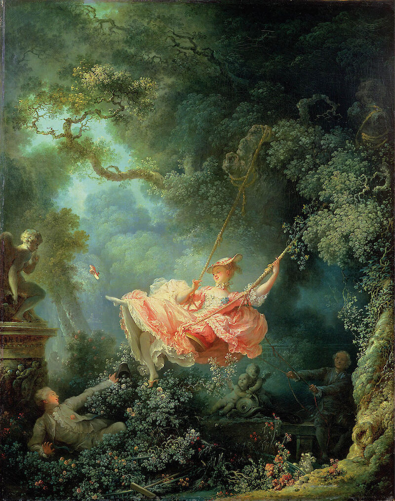 The Swing, 1767, Jean-Honoré Fragonard