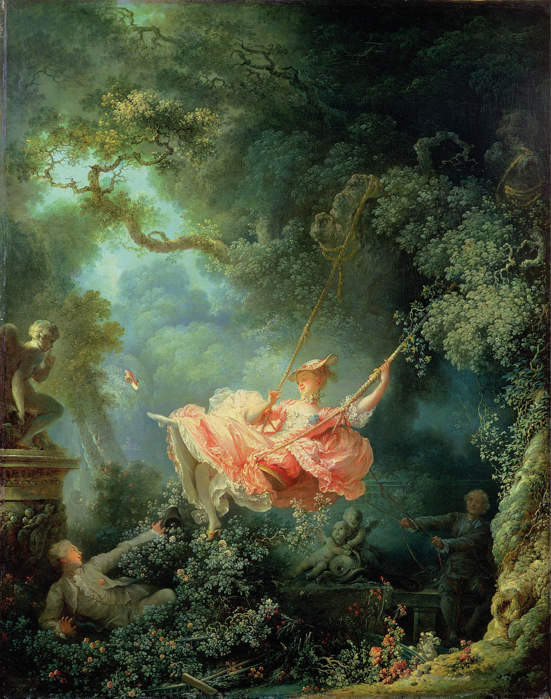 The Swing, 1767 — Jean-Honoré Fragonard