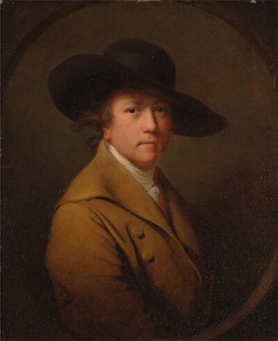 Portrait of Joseph Wright of Derby