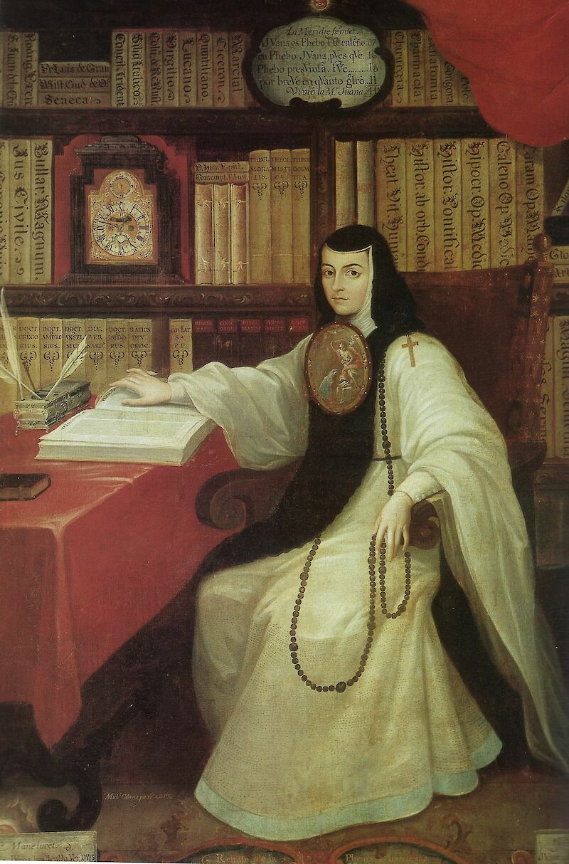 Portrait of Sor Juana Inés de la Cruz