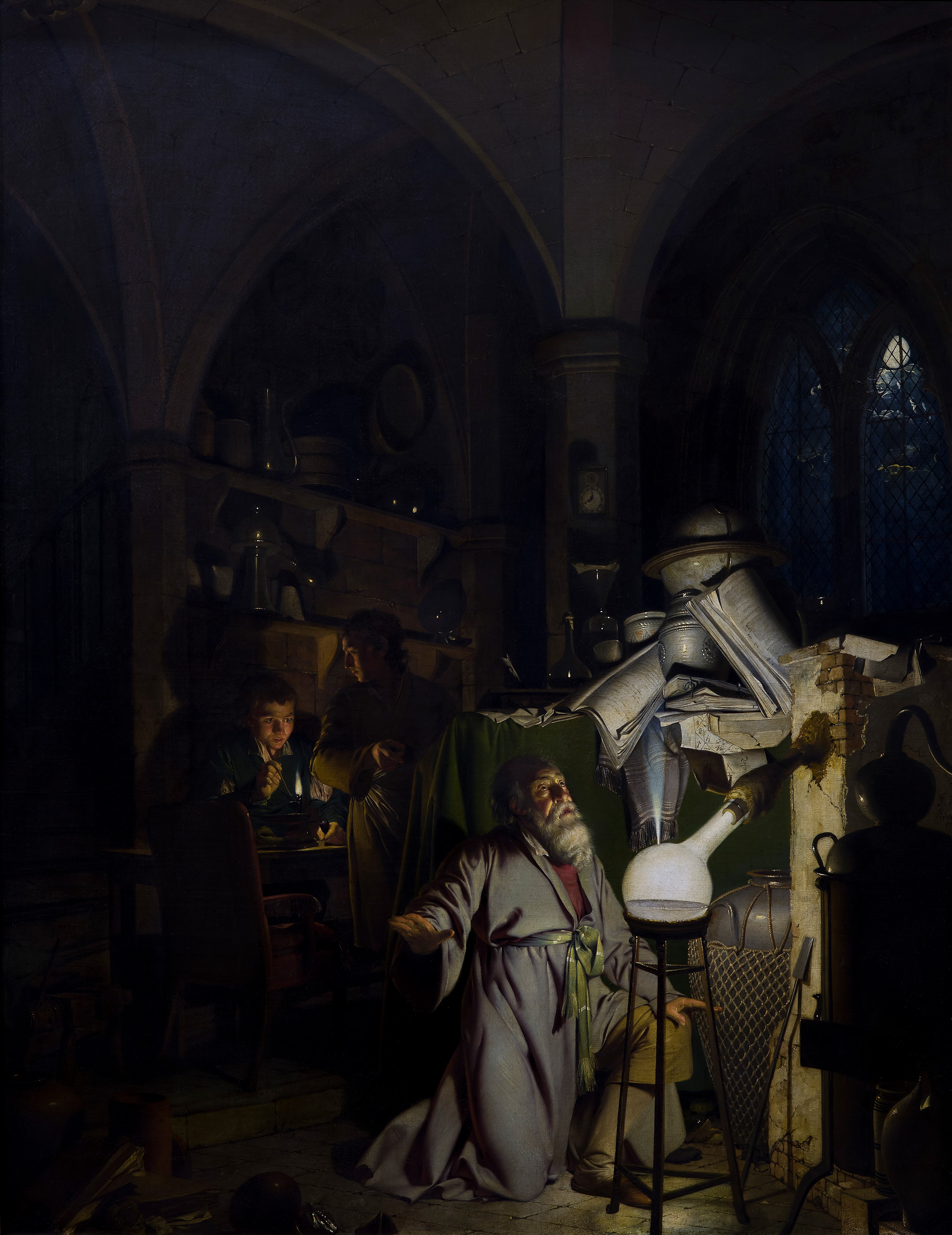 The Alchemist, 1771 — Joseph Wright of Derby