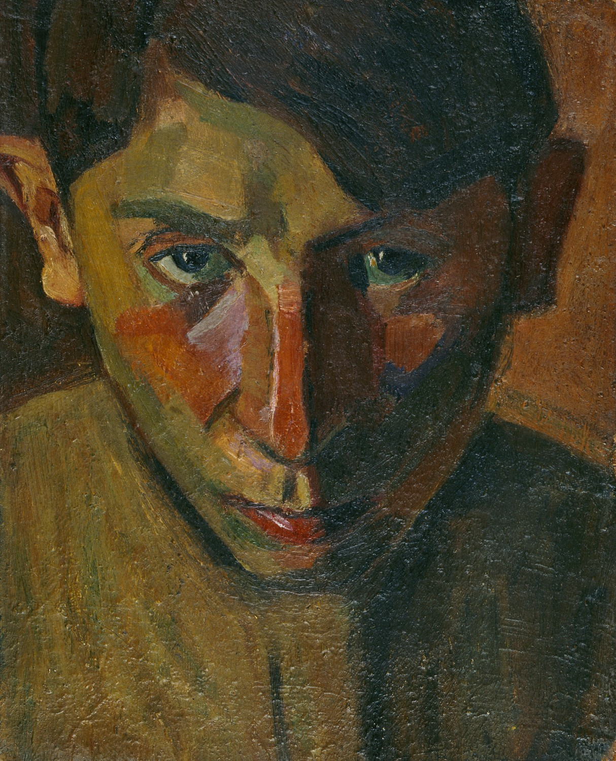 Self-portrait, 1918 — Grégoire Michonze