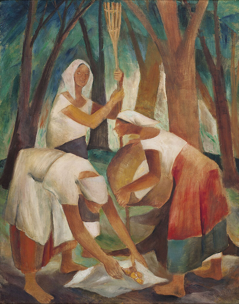 Three Women in a Landscape