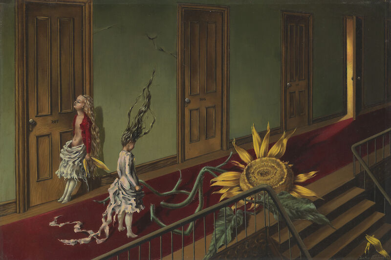 Portrait of Dorothea Tanning