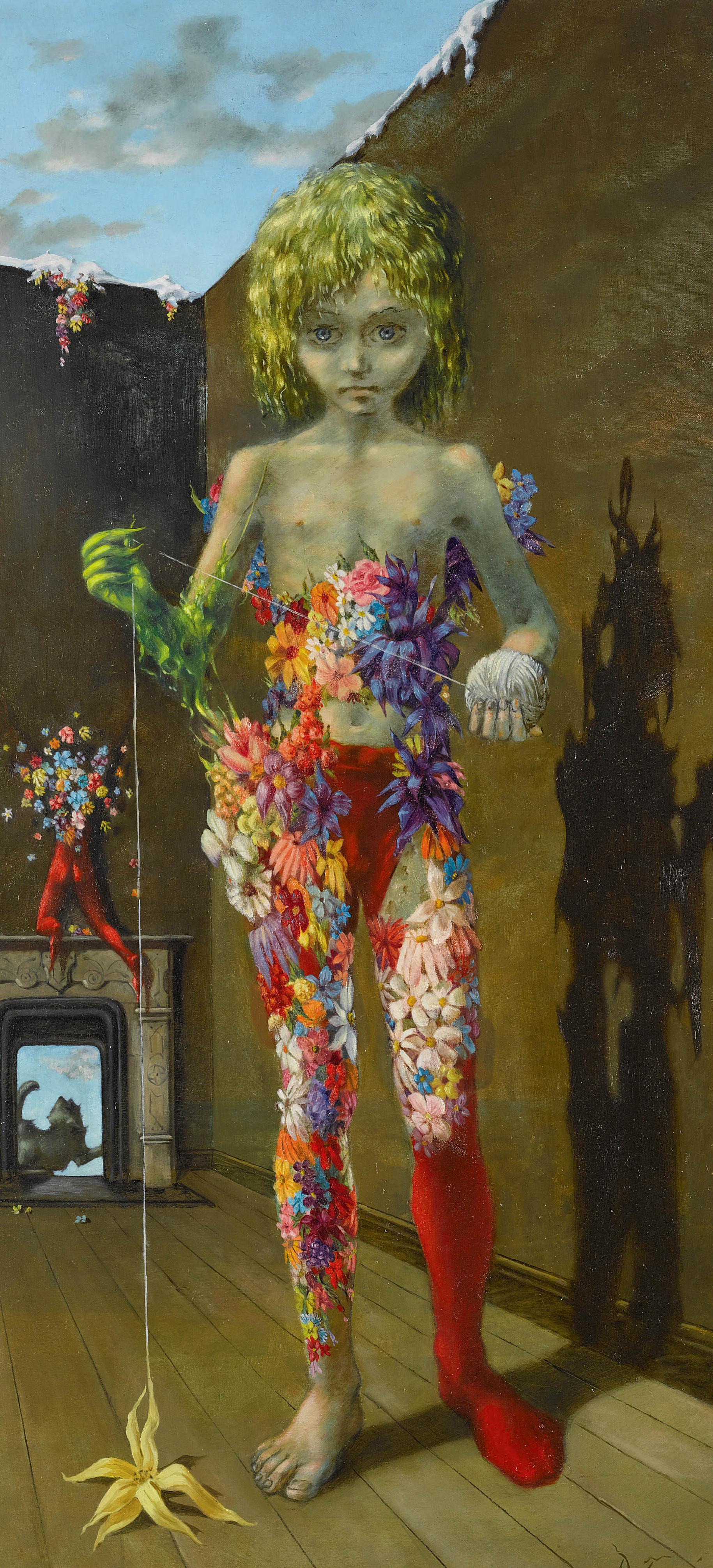 The Magic Flower Game, 1941 — Dorothea Tanning