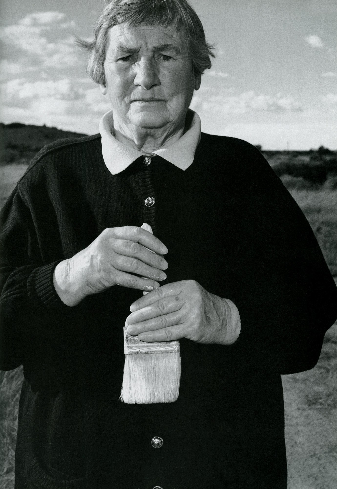 Portrait of Agnes Martin