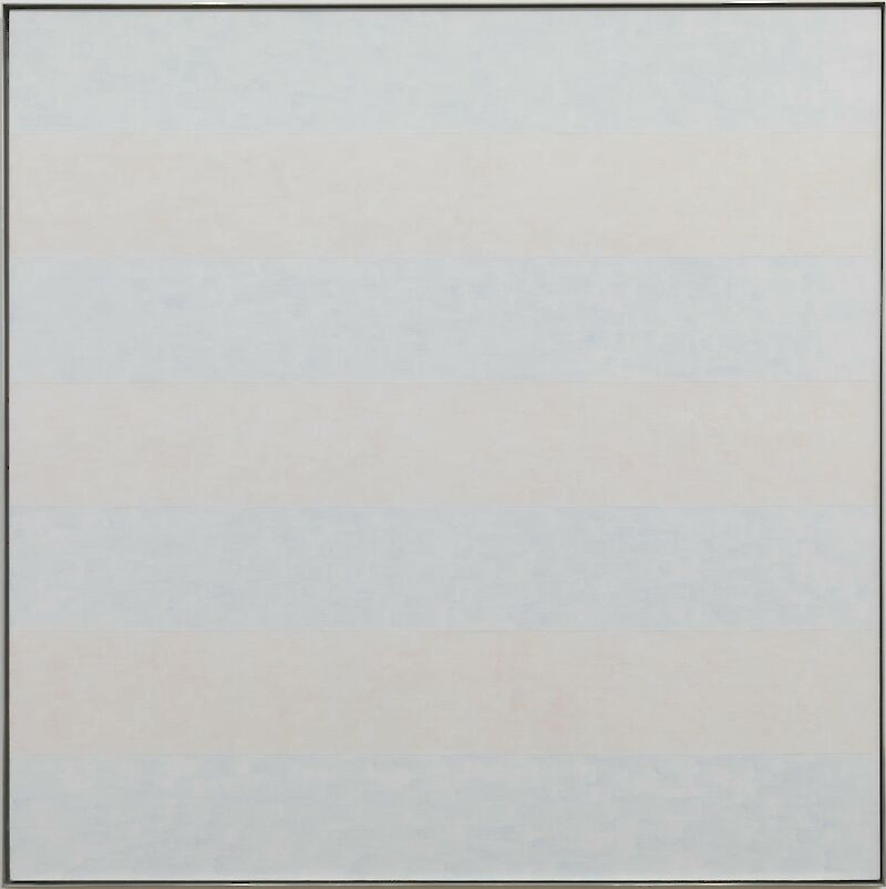 Untitled #10, 1995, Agnes Martin