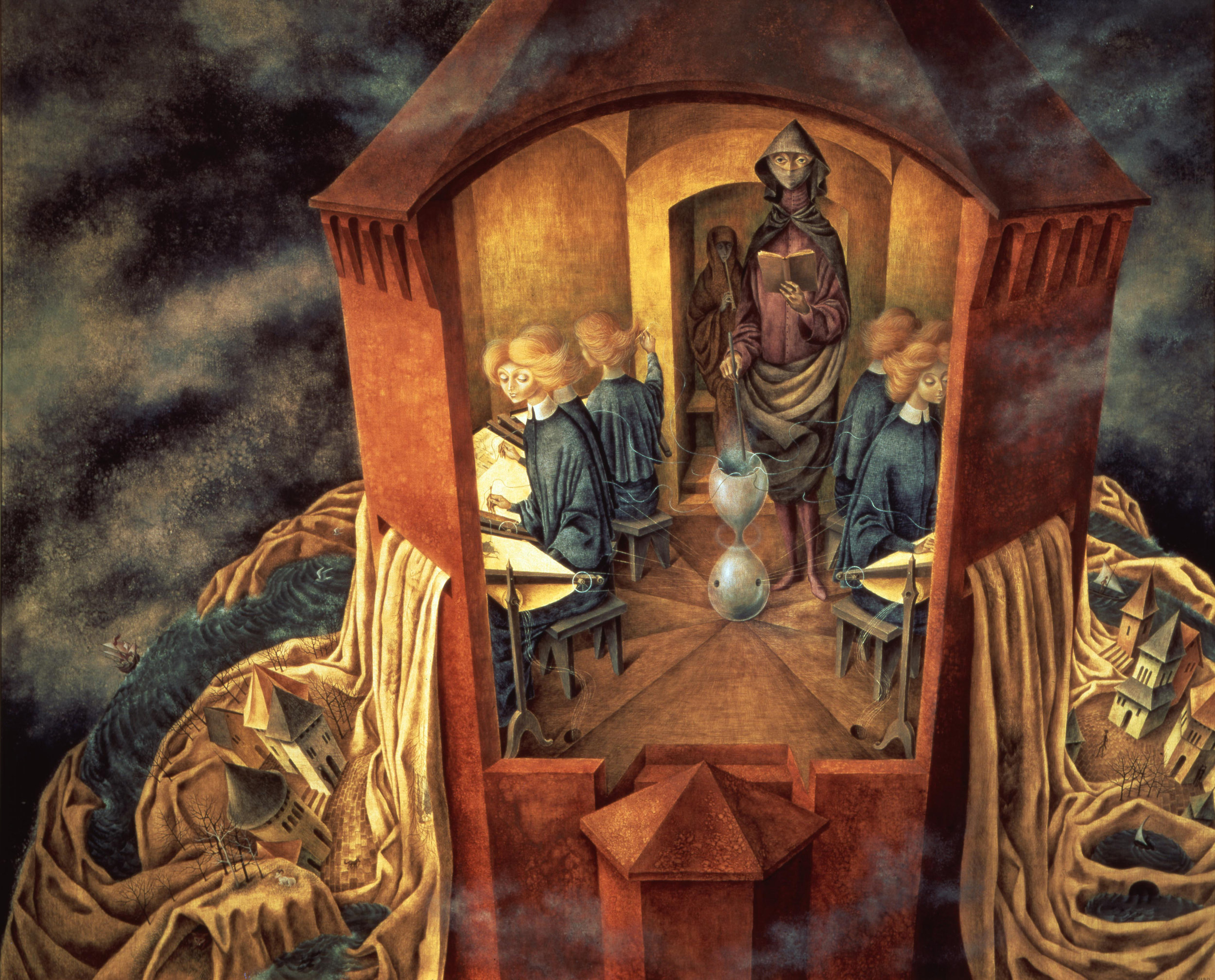 Embroidering the Earth's Mantle, 1961 — Remedios Varo
