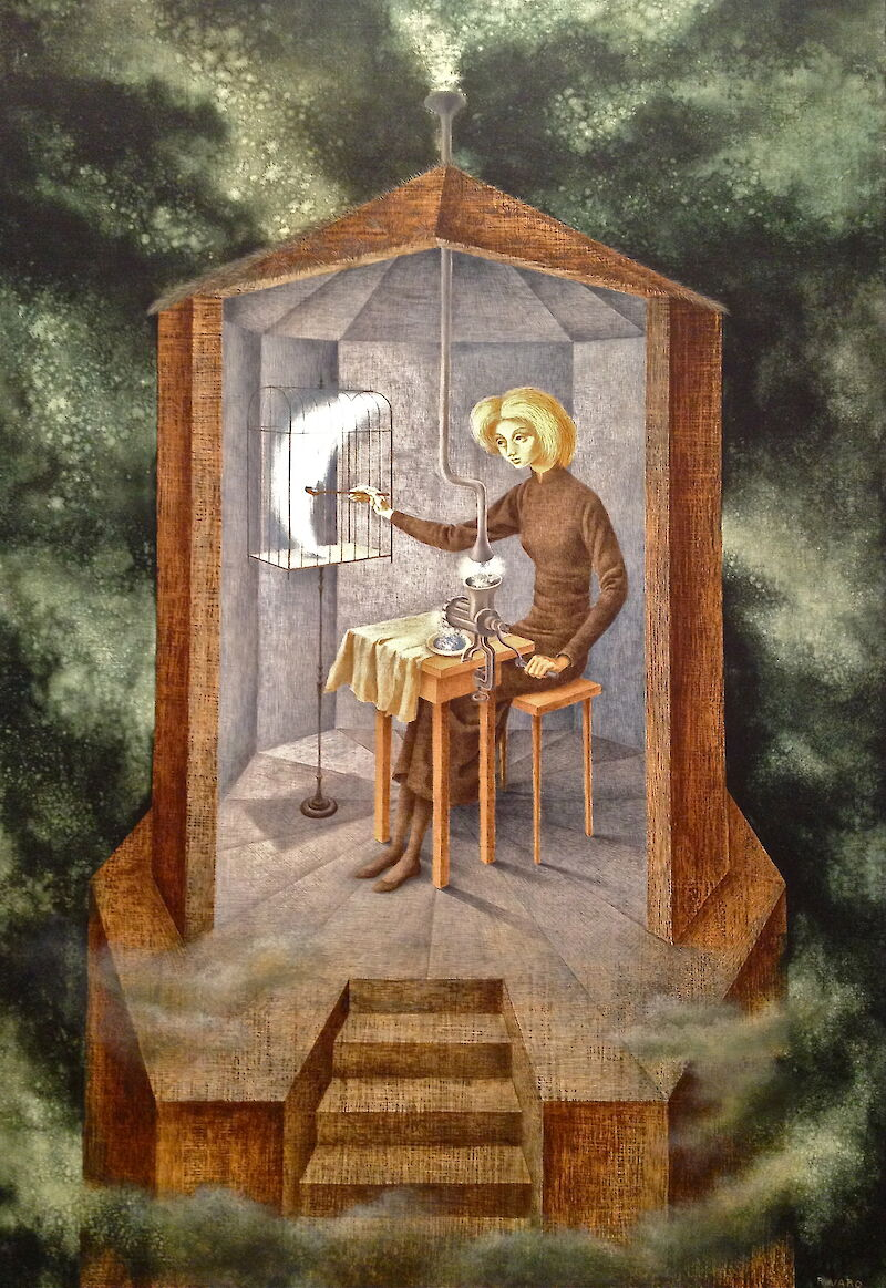 Star Maker, 1958, Remedios Varo