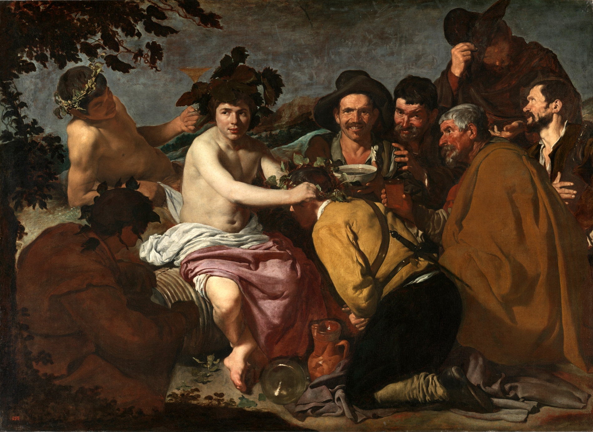 The Triumph of Bacchus, 1629 — Diego Velázquez,