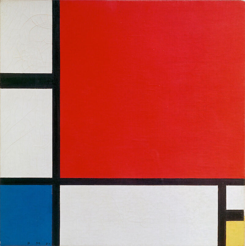 Composition with Red Blue and Yellow, 1929, Piet Mondrian