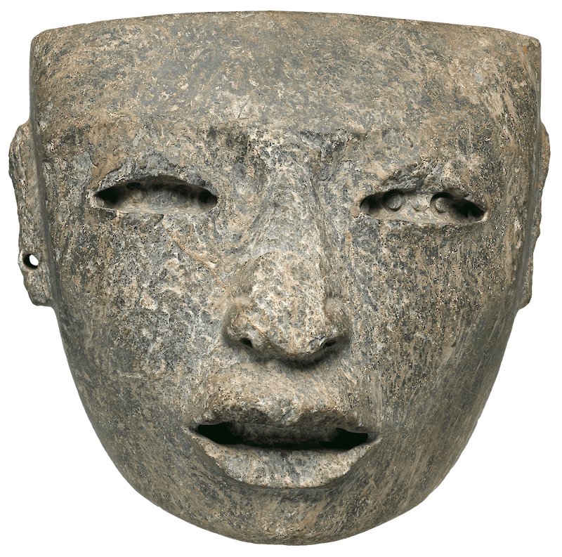 Greenstone Mask, 700 CE, Teotihuacan Culture