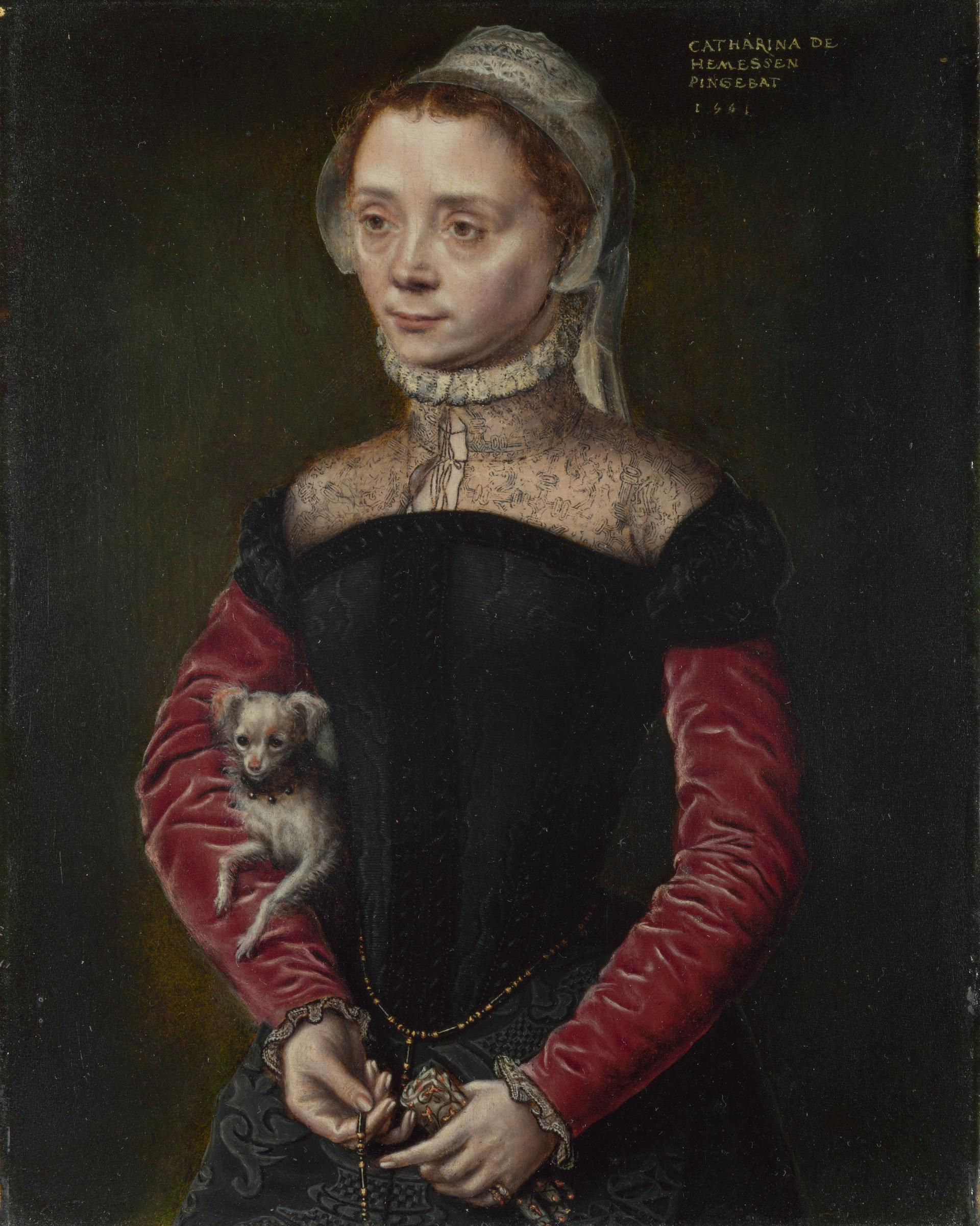 Portrait of a Woman, 1551 — Catharina van Hemessen
