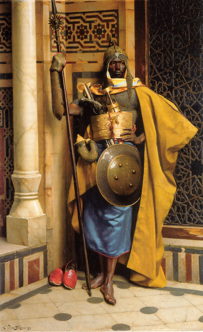 The Palace Guard, 1892, Ludwig Deutsch