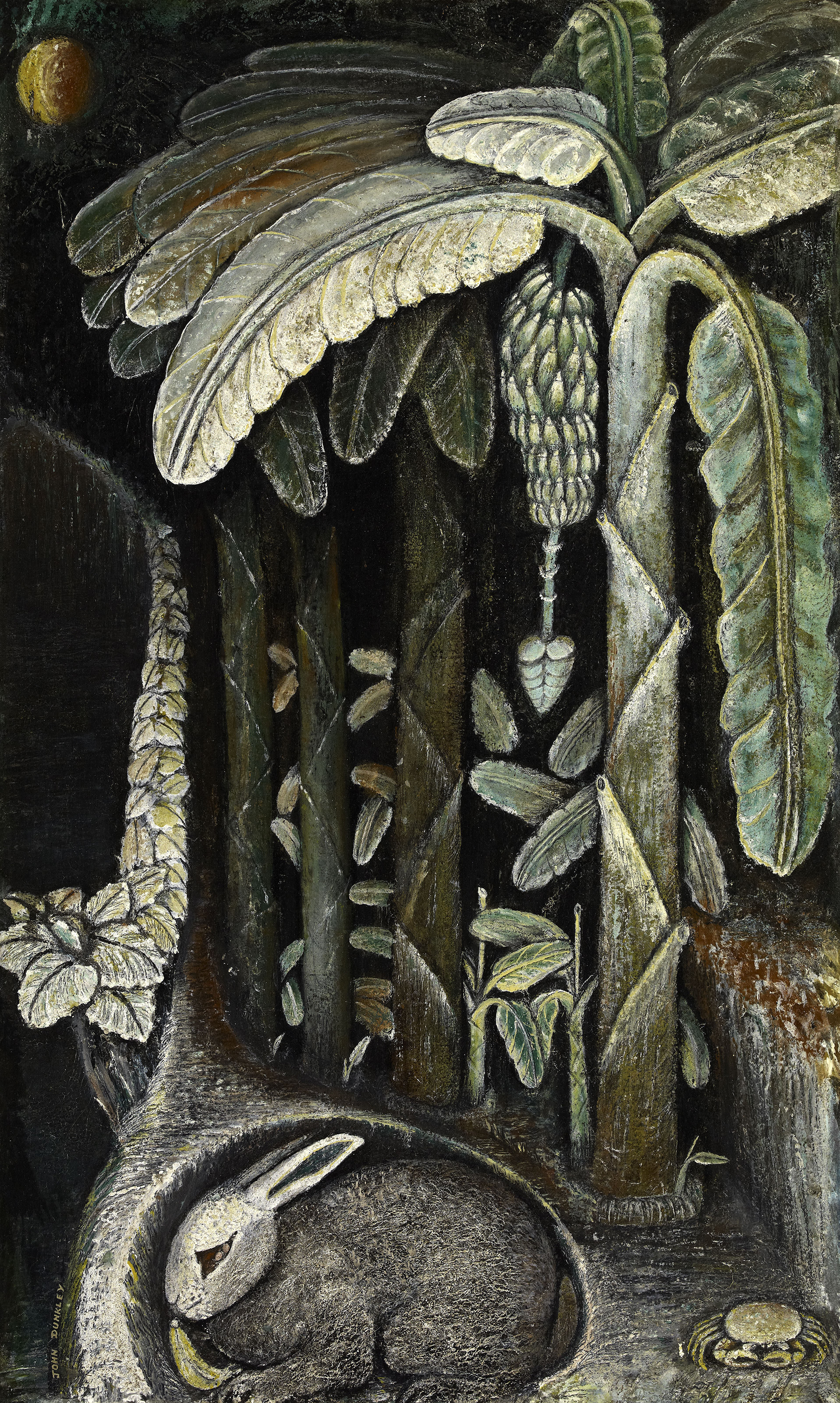 Banana Plantation, 1945 — John Dunkley