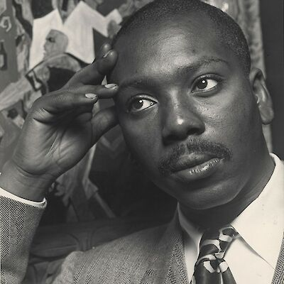 Portrait of Jacob Lawrence