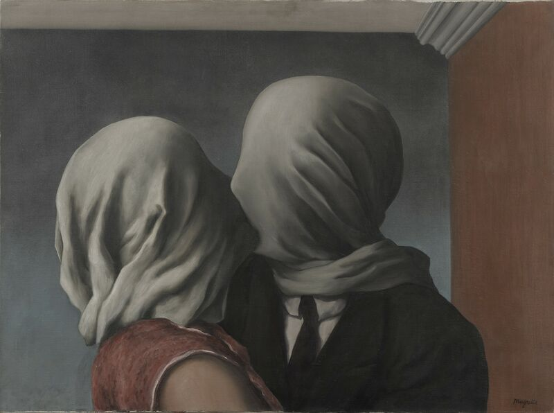 The Lovers, 1928, René Magritte