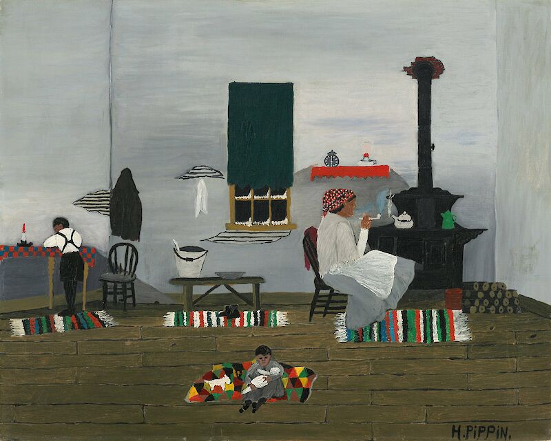 School Studies, 1944, Horace Pippin