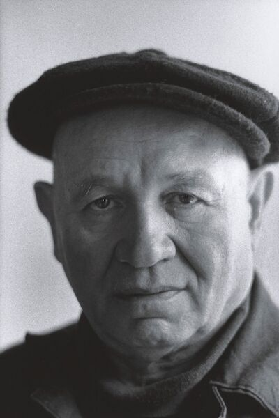 Portrait of Romare Bearden