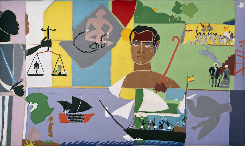 Captivity and Resistance, 1976, Romare Bearden